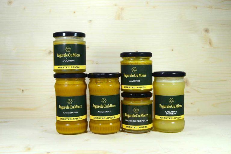 Miere de albine cruda