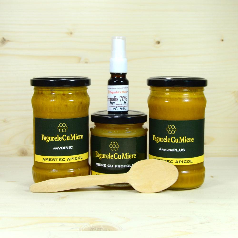 Creșterea imunității la copii și adulți cu ajutorul produselor apicole