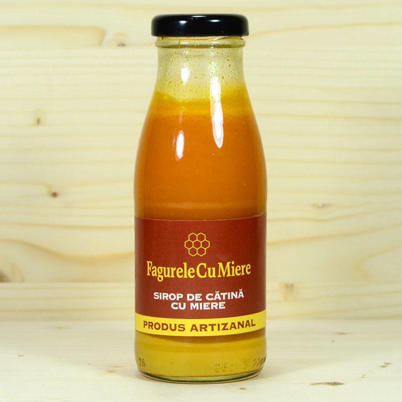 Sirop nepasteurizat de cătină cu miere