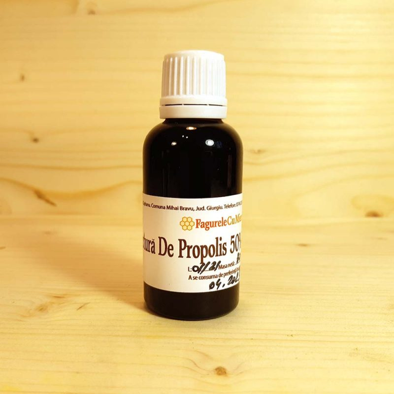 Tinctura de propolis de concetratie 50% 30ml