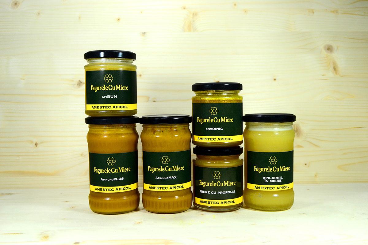 Amestecuri apicole Fagurelecu Miere